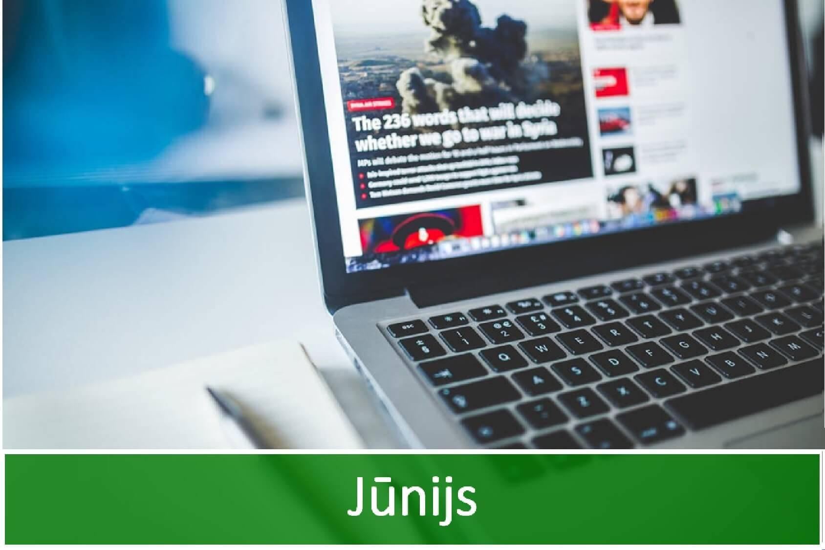 Jaunākās aktualitātes IT nozarē- jūnijs