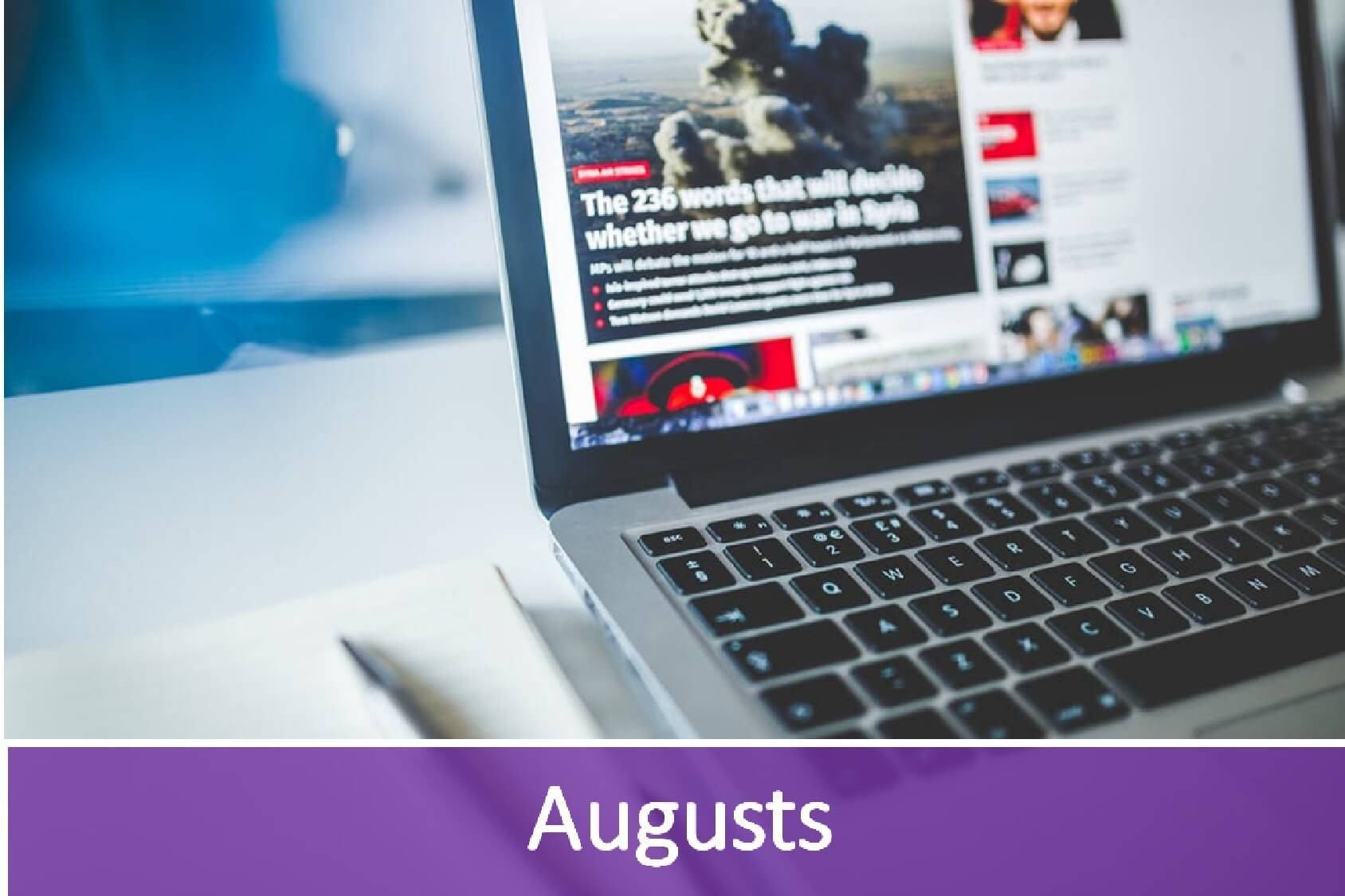 Jaunākās aktualitātes IT nozarē- augusts