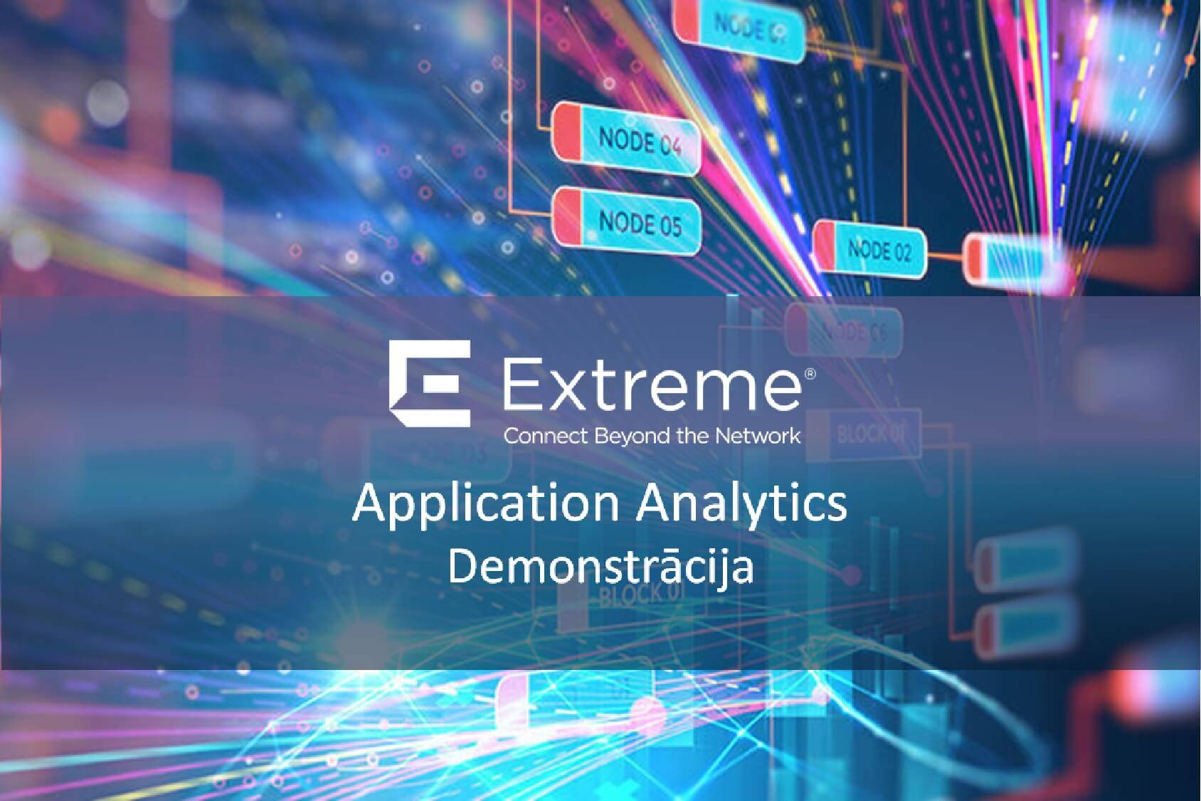 Extreme Networks Application Analytics